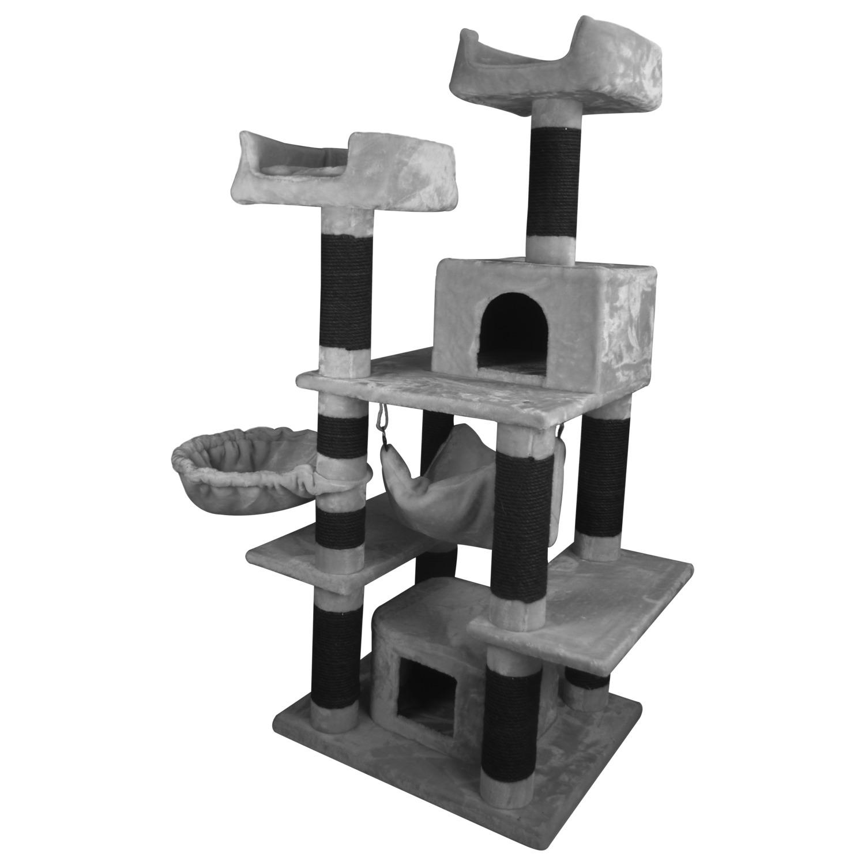 Adori-Krabpaal-Mosey-Krabpaal-6070160-cm-31.2-kg-Grijs-Zwart