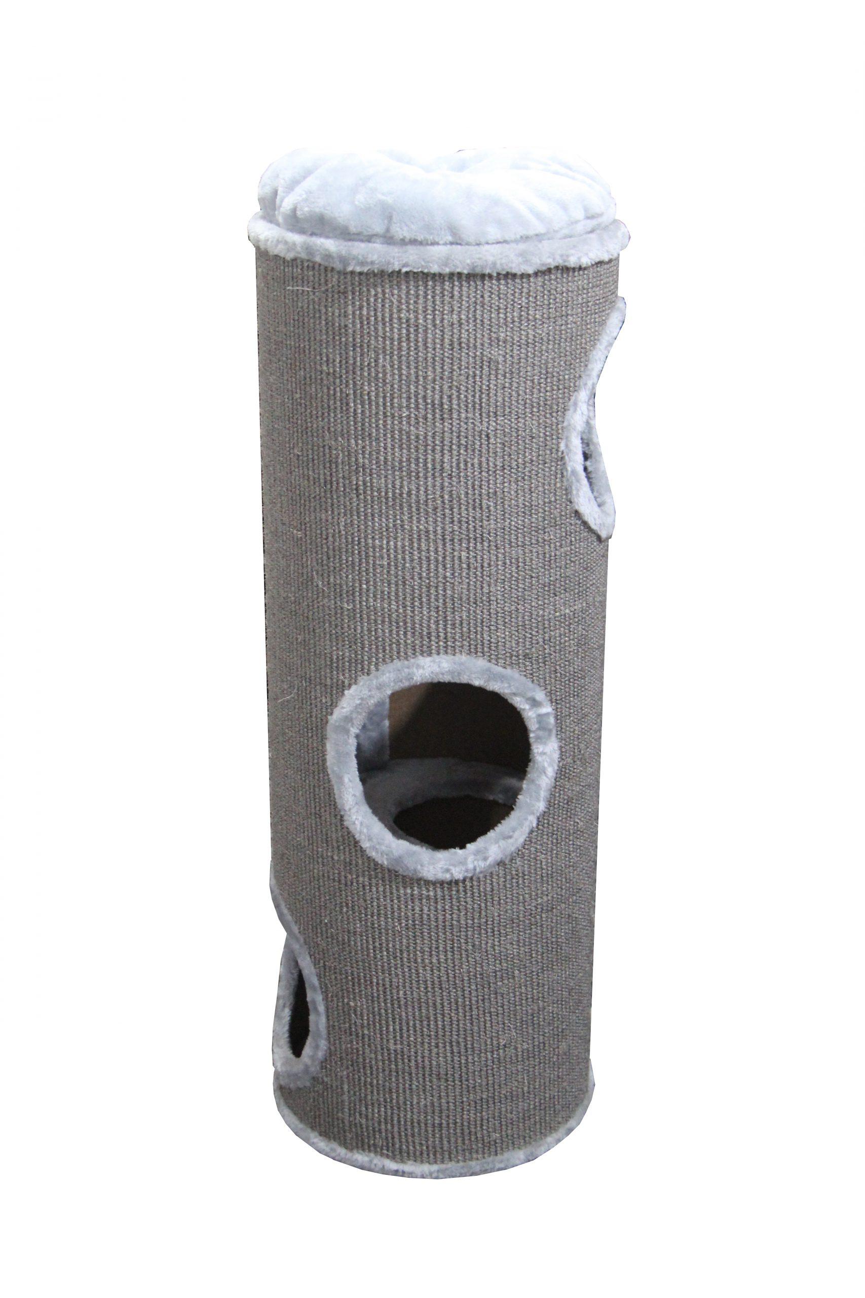 Adori-Krabton-Nala-Grijs-Krabpaal-40x40x100-cm