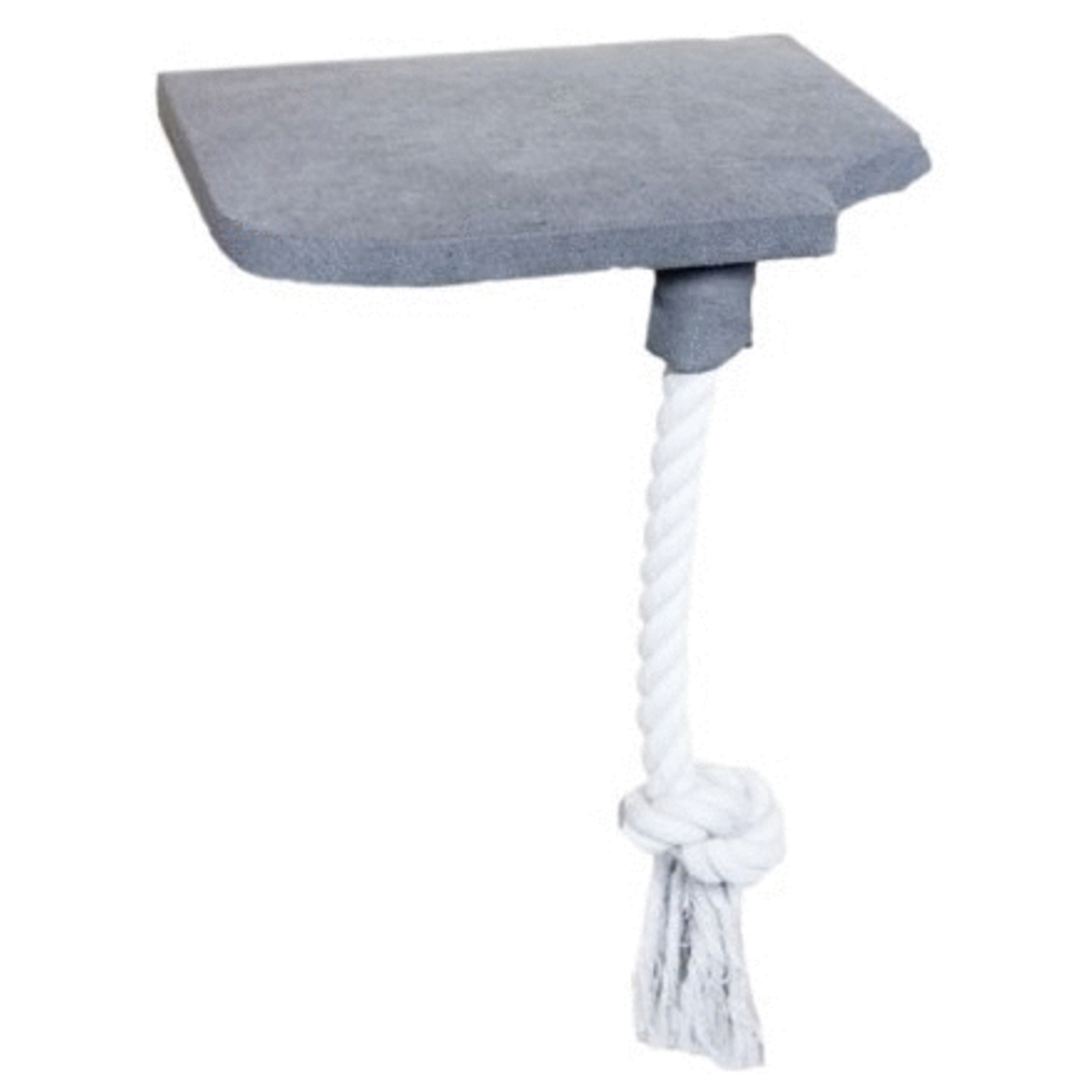 All-For-Paws-Skywalk-Step-In-Platform-With-Rope-Wandkrabpaal-32x8x28-cm-Grijs