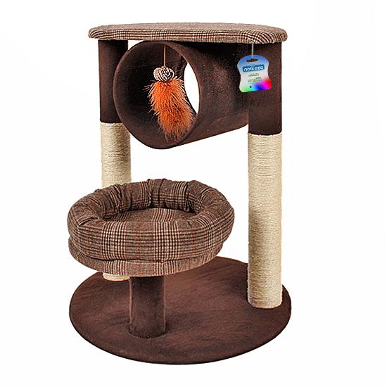 Katten-krabpaal-Brownie