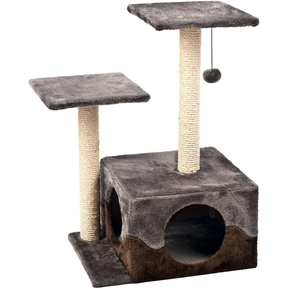 Krabpaal-Kangri-1-GrijsBruin-45-x-35-x-68-cm-Flamingo-Grijs