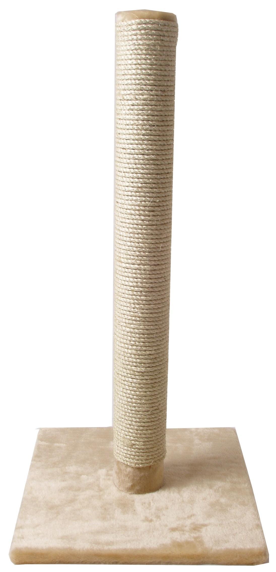 Krabpaal-Lang-82-cm-voor-de-kat-Beige