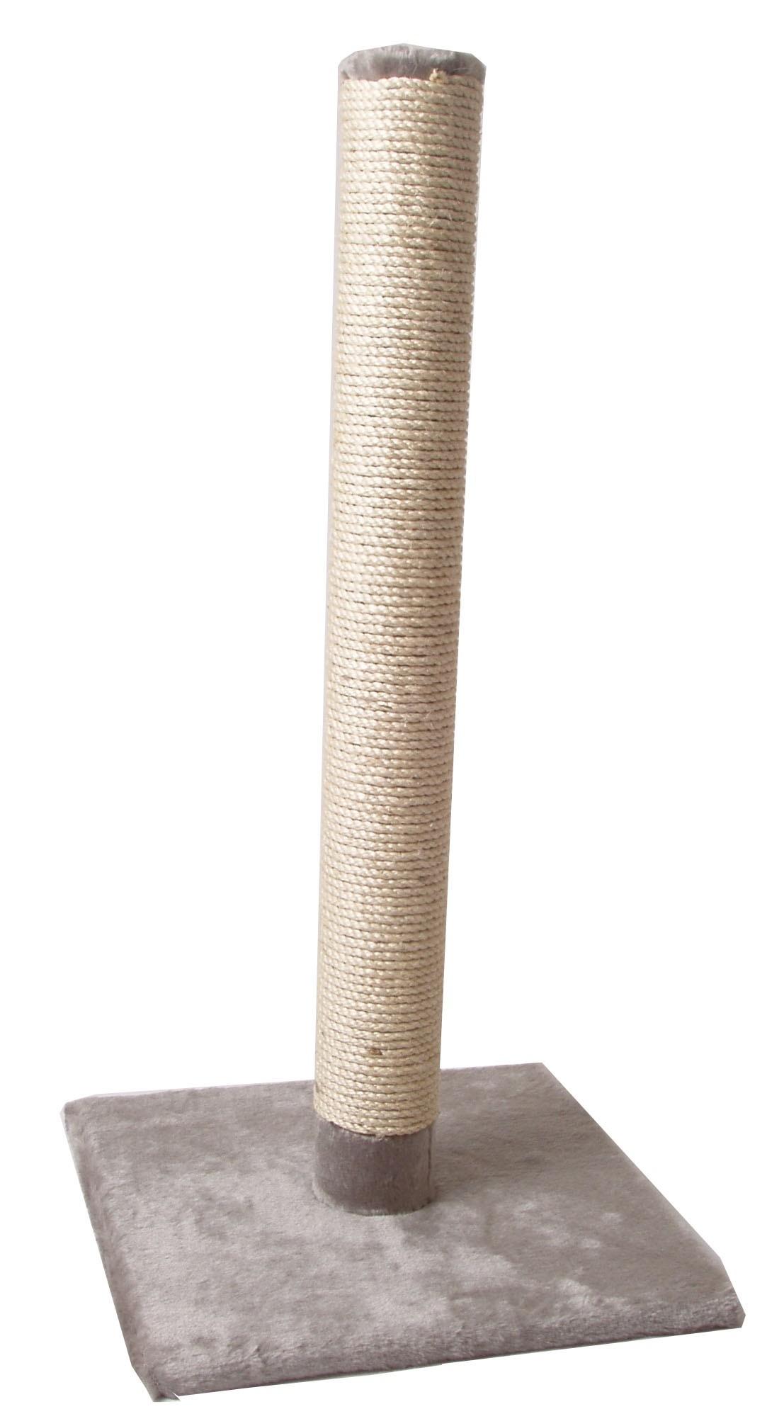Krabpaal-Lang-82-cm-voor-de-kat-Grijs