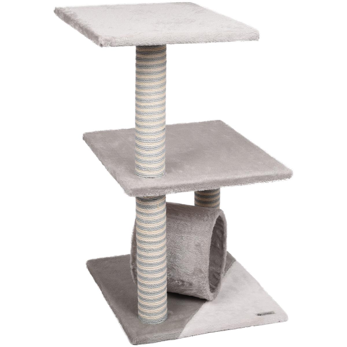 Krabpaal-Steve-40-x-40-x-76-cm-Flamingo-Grijs