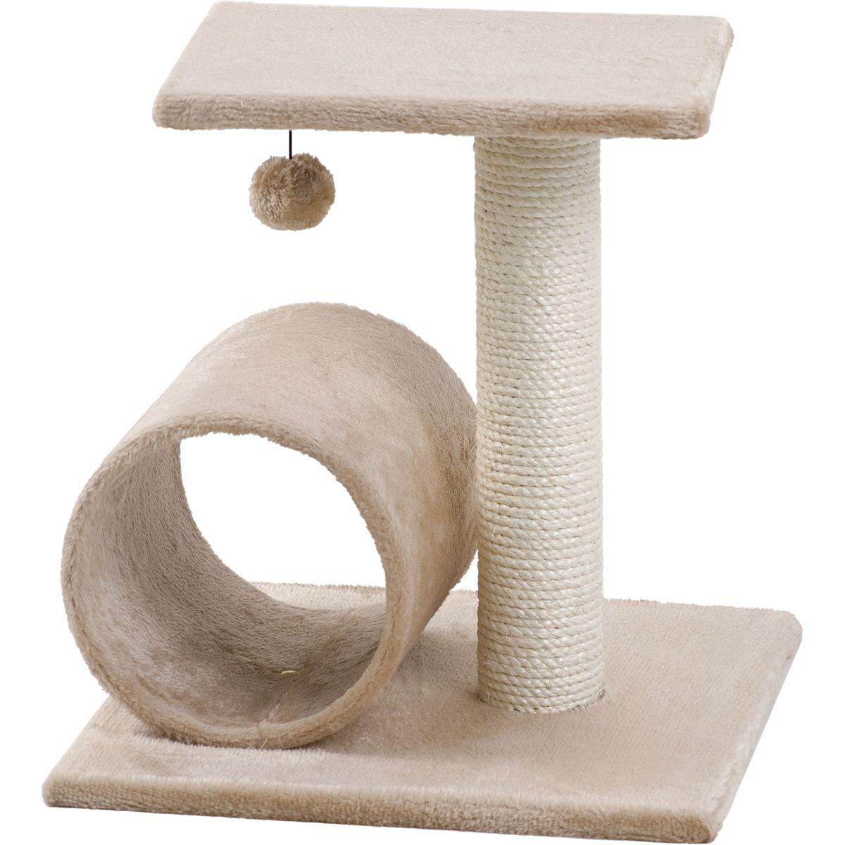 Krabpaal-Triolet-Beige-38-x-38-x-40-cm-Flamingo-Beige