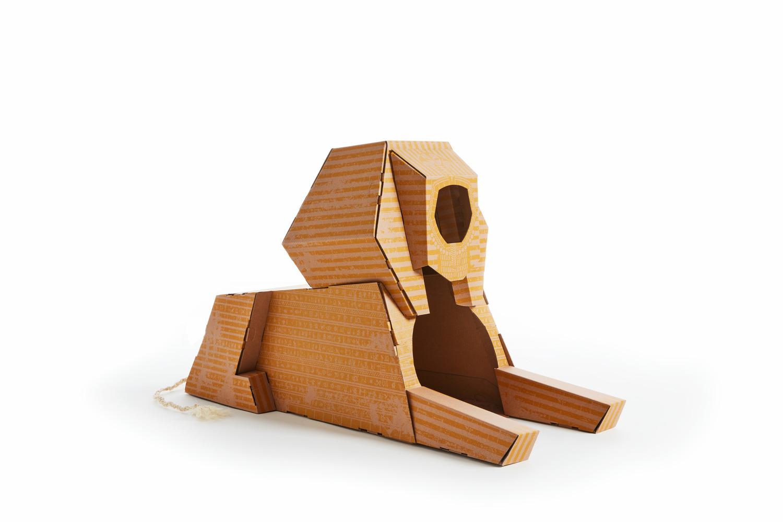 Poopy-Cat-Sphinx-Speelhuis-Krabpaal-82x36x60-cm-Geel-Bruin
