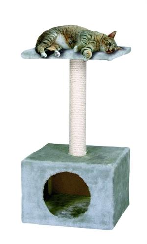 Karlie-krabpaal-amethyst-grijs-basic-line-30X30X55-CM
