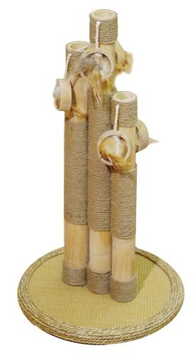 Krabpaal-basil-bamboe-35X35X55-CM