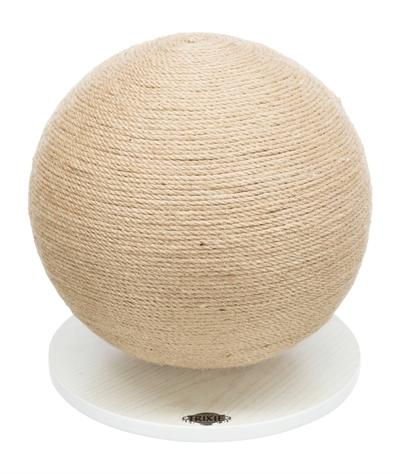 Trixie-krabpaal-bal-op-voet-jute-hout-29X29X31-CM